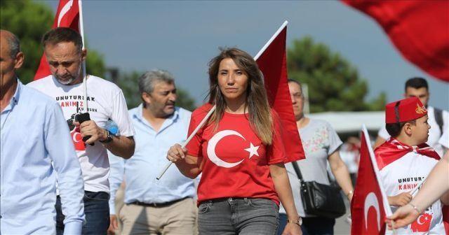 Vatandaşlar '15 Temmuz Buluşması' için Atatürk Havalimanı'na geliyor