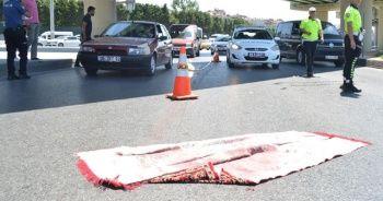 15 Temmuz Demokrasi Otogarı girişinde feci kaza