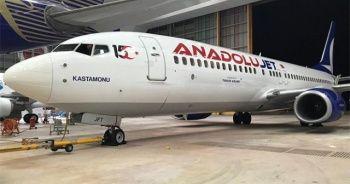 AnadoluJet'ten 15 Temmuz'a özel uçak