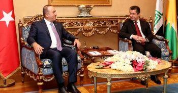 Bakan Çavuşoğlu, Mesrur Barzani ile telefonla görüştü
