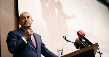 Bakan Çavuşoğlu, Üsküp'te 15 Temmuz anma programına katıldı
