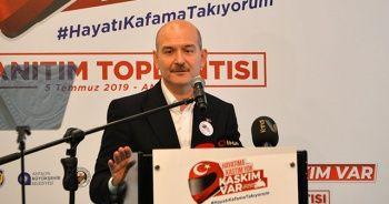 Bakan Soylu, 'Hayatıma Kastım yok, Kaskım Var' projesini başlattı
