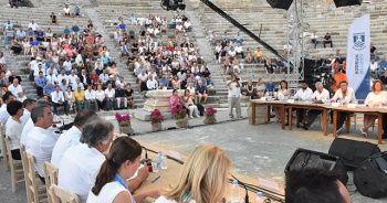 Bodrum Belediye Meclisi Antik Tiyatro'da toplandı