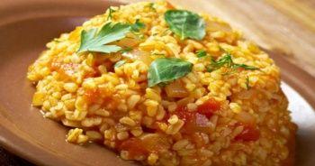 Bulgur pilavı tarifi, bulgur pilavı nasıl yapılır ve Sebzeli bulgur pilavı hazırlanışı ve tarifleri