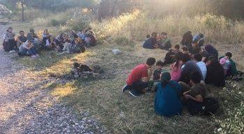 Çanakkale'de göçmen operasyonu