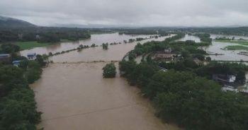 Çin'in 9 eyaletinde sel uyarısı