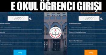 E Okul veli bilgilendirme sistemi 2019 sorgulama, VBS E OKUL GİRİŞ SAYFASI