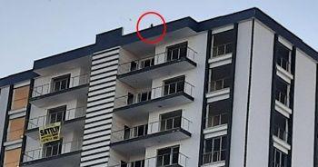 Elazığ'da 12 katlı binada intihara teşebbüs