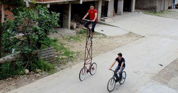 En havalı bisikleti yaptı