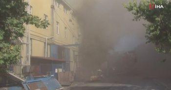 Esenyurt'da fabrikada yangın