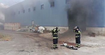 Eski ambalaj fabrikasında patlama: 4 yaralı