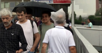 İstanbul'da yağmur başladı