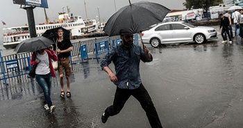 İstanbullulara yaz yağmuru sürprizi