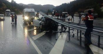 Kahramanmaraş'ta trafik kazası: 4 yaralı
