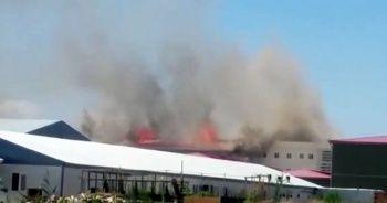 Kara Havacılık Okulu'nda yangın