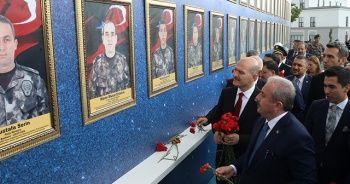 Şentop ve Soylu'dan Gölbaşı Özel Harekat Başkanlığına ziyaret