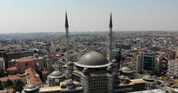 Taksim Camii'nin büyük bölümü tamamlandı