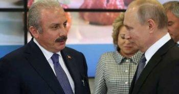TBMM Başkanı Şentop, Putin ile görüştü