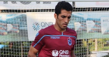 Trabzonspor'da Amiri'nin sözleşmesi feshedildi