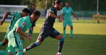 Trabzonspor hazırlık maçında berabere kaldı