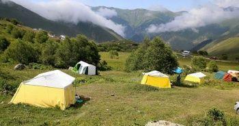 Turiste kiraladığı çadır geçim kaynağı oldu