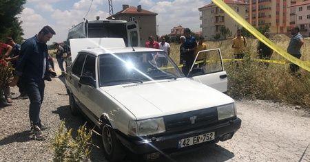 27 yaşındaki genç otomobilin içinde ölü bulundu
