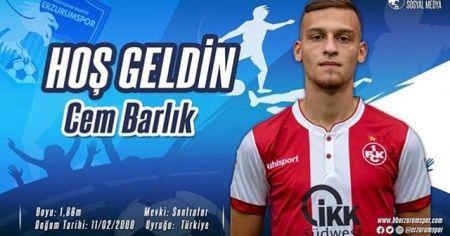 BB Erzurumspor Cem Barlık'ı kadrosuna kattı