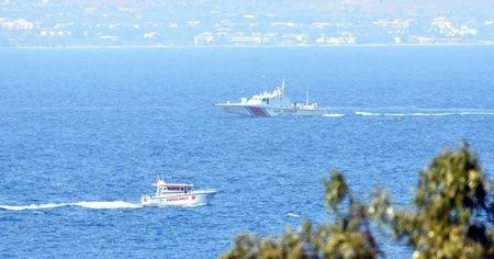 Bodrum'da düzensiz göçmenleri taşıyan tekne battı