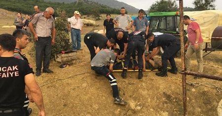 Bucak'ta kuyu faciası: Anne ve dayı öldü, oğul son anda kurtuldu