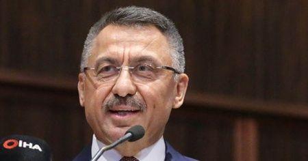 Cumhurbaşkanı Yardımcısı Fuat Oktay'dan Şanlıurfa açıklaması