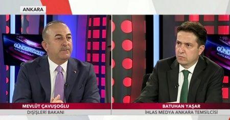 Dışişleri Bakanı Mevlüt Çavuşoğlu'ndan TGRT Haber'e özel açıklamalar