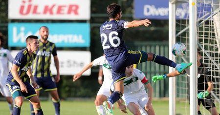 Fenerbahçe özel maçta Bursaspor'u 2-0'la geçti
