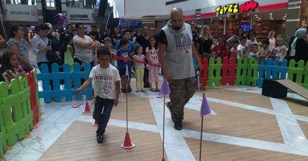 KAYSERmall'da en çok çocuklar eğlendi