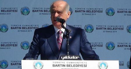 """MHP lideri Bahçeli:""""Beka siyaset üstü bir meseledir"""""""