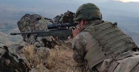 MSB: PKK'ya ait sığınak ve barınaklar imha edildi