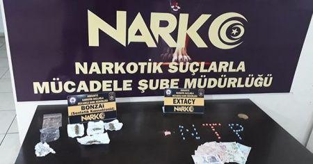 Osmaniye'de uyuşturucu operasyonu: 4 gözaltı