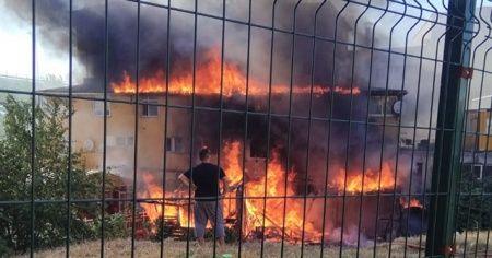 Pendik'te yangın paniği