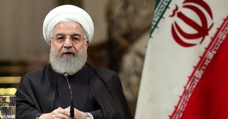 Ruhani Fransa Cumhurbaşkanı'ndan 'ABD ile ateşkes sağlamasını' istedi