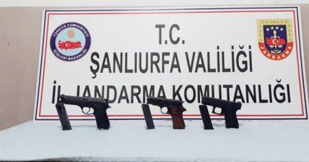 Şanlıurfa'da silah kaçaklığı operasyonu