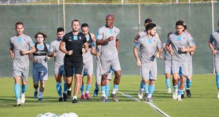 Trabzonspor, kamp için Avusturya'ya gitti