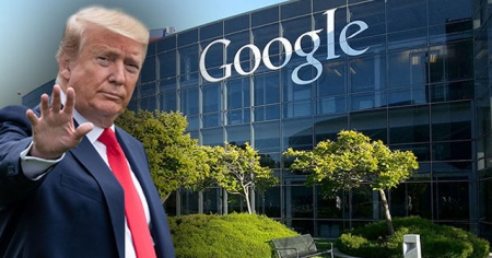 Trump'tan Google'a: Haince bir iş yaptı