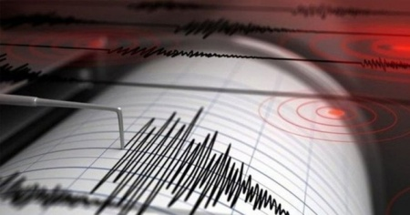 Van'da deprem meydana geldi