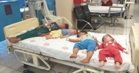 Yoğurttan zehirlenen 4 kardeş hastaneye kaldırıldı