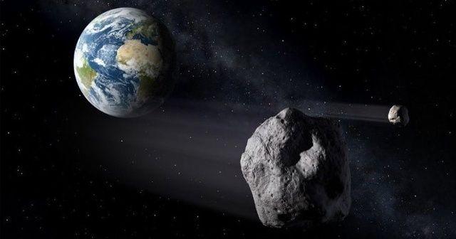 'Dev bir asteroit Dünya'ya yaklaşıyor'