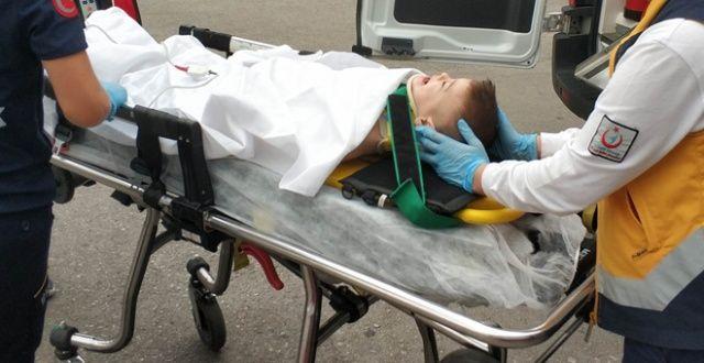 5. kattan düşen küçük çocuk ağır yaralandı