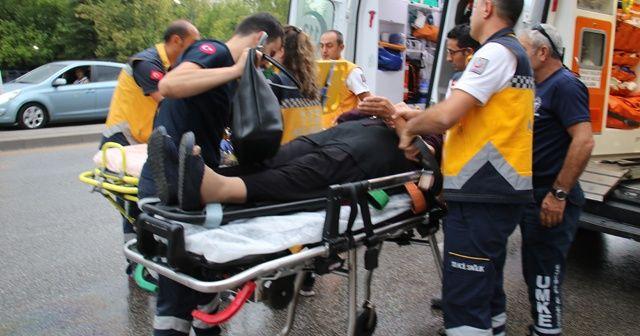 Ankara'da korkunç kaza: 3'ü polis, 8 yaralı