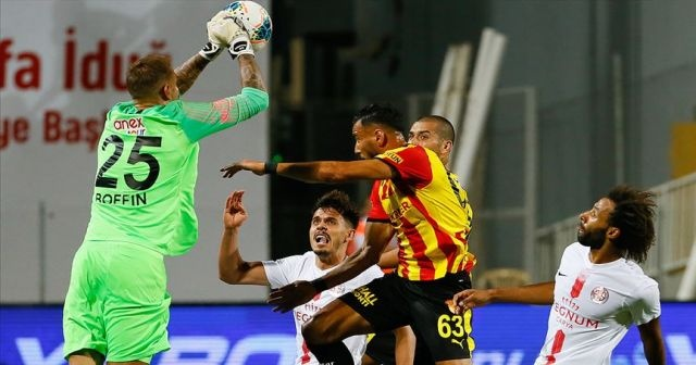 Antalyaspor deplasmanda 3 puanı aldı