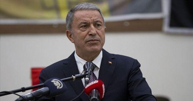 Bakan Akar'dan Kıbrıs açıklaması