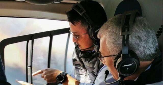 Bakan Bekir Pakdemirli'den İzmir'de çıkan orman yangını hakkında açıklama