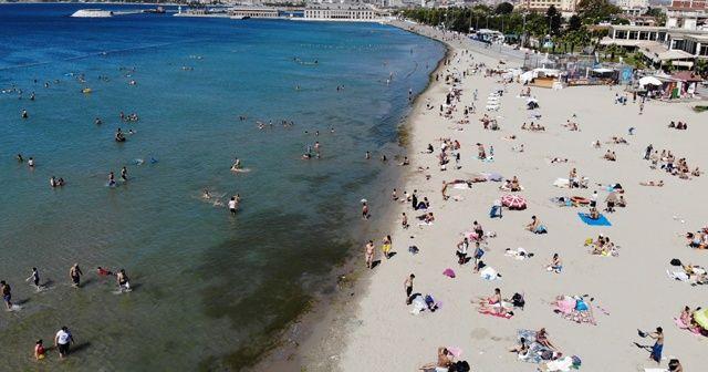Bayramın son gününde İstanbullular plajlara koştu